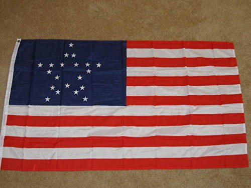 Flag: 20-Star Historic U.S. Flag 3'x5' Super Poly Outside Flag / Banner