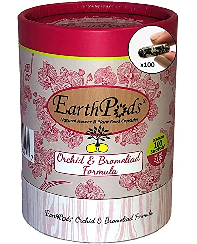 EarthPods Natural Plant and Food Capsules Orchid and Bromeliad Formula