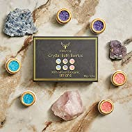 ComfyCozy Crystal Bath Bombs Luxury Gift Set | Relaxation Beauty Pamper Self Care Birthday Gifts for...
