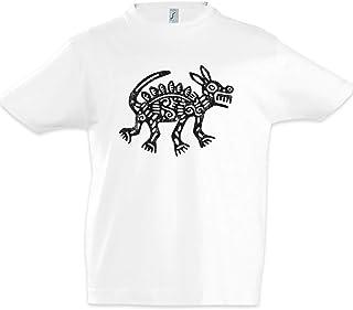 Urban Backwoods Aztec Dog Niños Chicos Kids T-Shirt