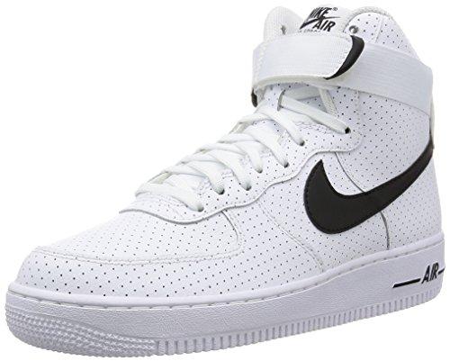 Nike Herren Air Force 1 High '07 Turnschuhe, Schwarz (White/Black/White), 47.5 EU