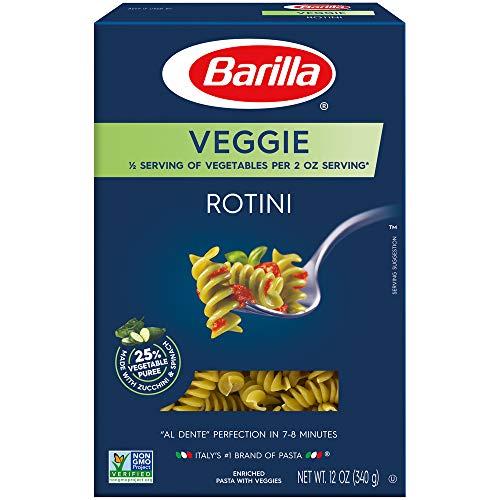 Barilla Veggie Pasta, Rotini, 12 oz