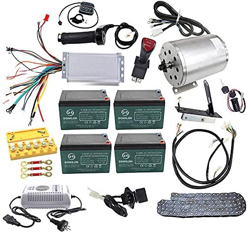 ZXTDR Full Set of 48V 1800W Brushless Electric Motor Controller...