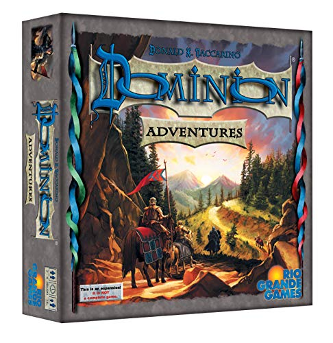 Rio Grande Games Dominion Adventures Game Gold
