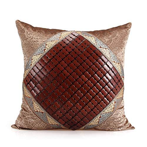 Kussen Huishoudelijke katoenen bamboe mat comfortabel materiaal kussenbescherming lumbale bank rugleuning verwijderbare wassen