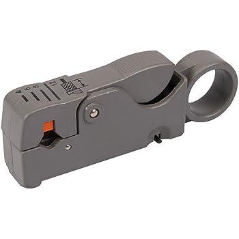 Televes 2145 Pelacables profesional para cable coaxial Gris y naranja