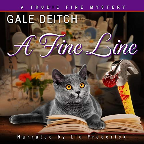A Fine Line audiobook cover art