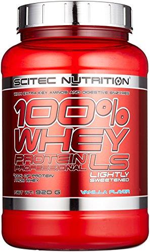 Scitec Nutrition Protein 100% Whey Protein Professional Low Sugar, Vanilla mit wenig Zucker, 920g