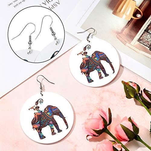 Afro earrings _image4