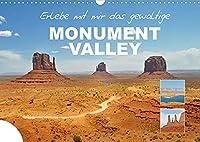 Erlebe mit mir das gewaltige Monument Valley (Wandkalender 2022 DIN A3 quer): Das Monument Valley ist eine Ebene auf dem Colorado-Plateau in Utha. (Monatskalender, 14 Seiten )