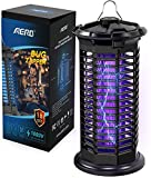Electric Mosquito Zappers/Killer, Aerb Bug Zapper, Mosquito Zappers, Mosquito lamp, Powerful Bug Light, Insect Killer, Fly Traps, Fly Killer Fly Gnat Zappers