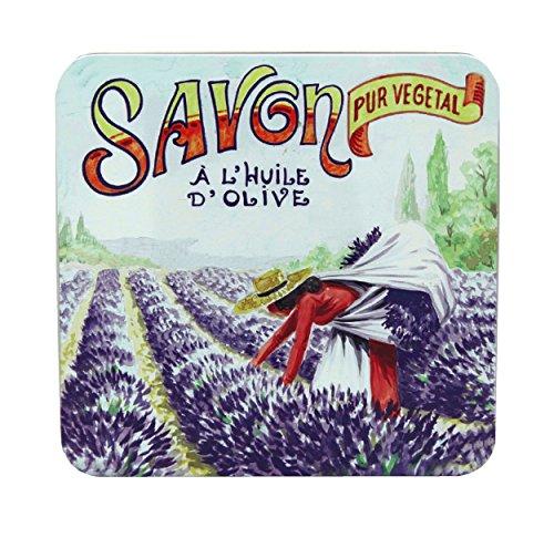 La Savonnerie de Nyons Gathering Boîtes de 4 savons 100 grammes, Multi/Couleur, Taille Unique