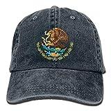 Nifdhkw Mexico Eagle Flag Unisex Adulto Ajustable Retro Dad Hat Hat10