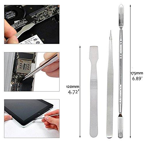 Kingsdun 14 in1 Precision Screwdriver Repair Tool Kit for MacBook Pro and Air, iPhone 4 / 4S / 5 / 5C / 5S / 6/6 Plus