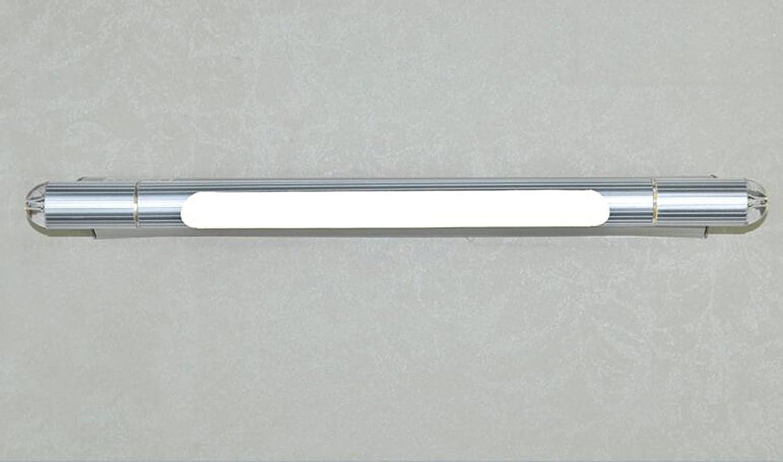 WTL Lighting LED Spiegel Einfache moderne Licht Badezimmer Badezimmer Badezimmer Spiegel Kronleuchter WC Kommode Wand Lampe Make-up Lampe Einstellbare Krper (Farbe   Weies Licht-59cm)