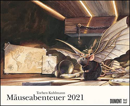Torben Kuhlmann Mäuseabenteuer 2021 – DUMONT Kinder-Kalender – Querformat 52 x 42,5 cm – Spiralbindung