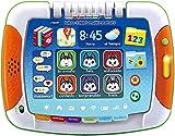 VTech - Libro/Tablet multiaventura, Tablet para niños +2 años, Tablero Interactivo y Libro Tradicional, aprende los Colores, Las Formas geométricas a través de Cuentos y páginas ilustradas