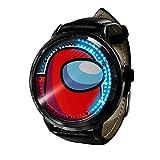 Among Us Reloj Reloj LED Pantalla táctil a Prueba de Agua Luz Digital Reloj Reloj de Pulsera Unisex Cosplay Regalo Nuevos Relojes de Pulsera Regalo para niños-A0040
