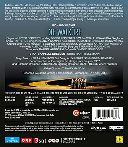Richard Wagner: Die Walküre (Salzburg, 2017) [4k Ultra HD] [Blu-ray]