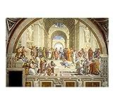 JCYMC Leinwand Bild Raphael Die Schule Von Athen Wandkunst