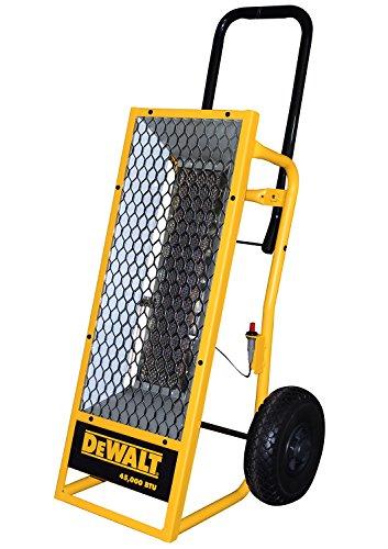 DEWALT F340620 DXH45 Radiant Propane Heater,