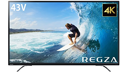 東芝 43V型 4K対応 液晶テレビ レグザ 2番組同時録画 W録対応 43C310X