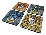 Wizarding World CSP0007 Untersetzer, Mehrfarbig