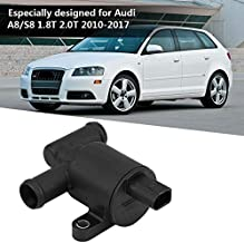 The Alley - 4H0121671B Car Heater Control Valve Solenoid Water Valve for Audi Beetle Golf Passat 1.8T 2.0T Vacuum Solenoid Valve