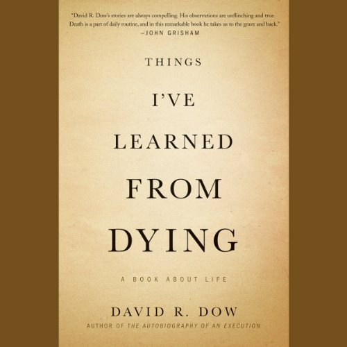 Things I've Learned from Dying audiobook cover art