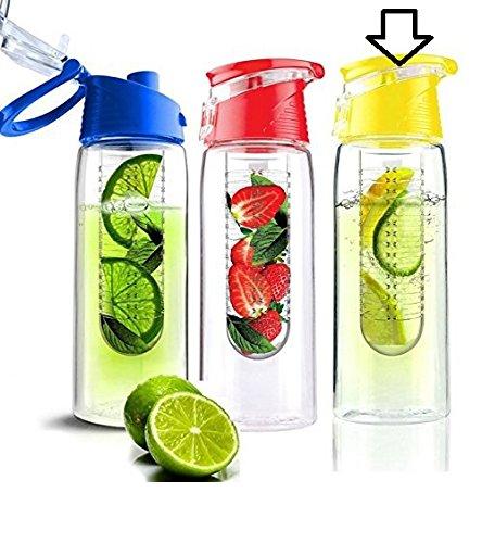 Aqua Laser drinkfles Trutti met fruitfilter, 700 ml, verschillende Kleuren: