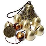 Yizunnu Garden metal Wind Chime Outdoor indoor bell Wind Chime Home Decoration 40cm