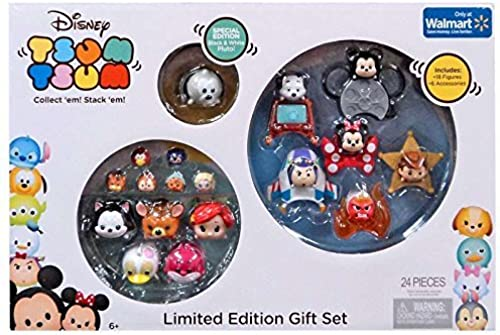 Disney Tsum Tsum 24 Piece Limited Edition Gift Exclusive Set by Disney