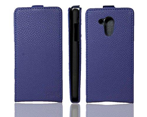 caseroxx Flip Cover für Acer Liquid Z500 Plus, Tasche (Flip Cover in blau)