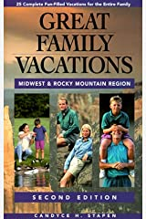Great Family Vacations Midwest Paperback