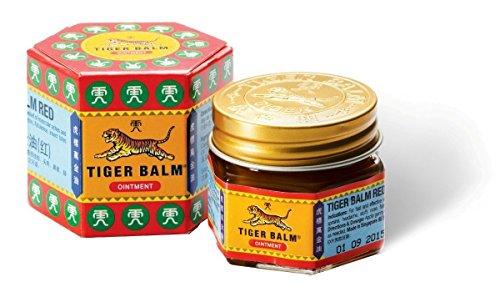 Tiger Bálsamo rojo extra fuerza dolor alivio de la pomada 19,4 g / 30 g