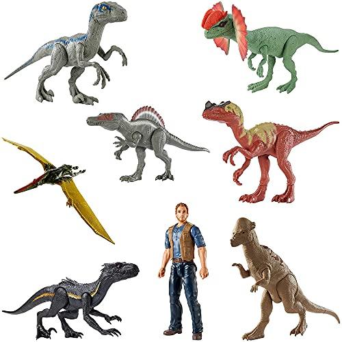 Figura Básica Jurassic World, Mattel - 1 (UM) ITEM SORTIDO SEM OPÇÃO DE ESCOLHA DO PERSONAGEM