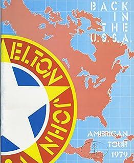 ELTON JOHN 1979 BACK IN THE USSA Tour Concert Program Programme