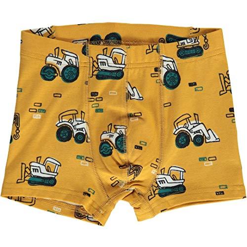 maxomorra Jungen Boxershorts/Unterhose mit Baumaschinen Größe 134/140