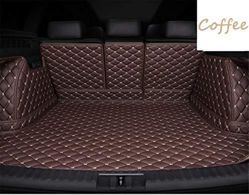 Protezione Bagagliaio Auto Copri Baule per Volkswagen Golf6 Golf7 Golf Sportvan 2009-2019 Telo Portabagagli Auto Accessori-Caffè, Golf7 14-19