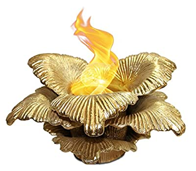 Anywhere Fireplace Botanical Gel Fireplaces (Gold)