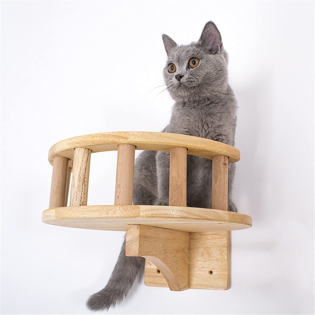 SCDCWW Pet Furniture Wooden Climbing Steps Wall Ranking TOP19 Cats specialty shop Frame