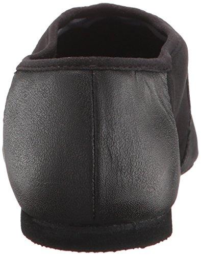 Bloch Dance Women's Neo-Flex Leather and Neoprene Slip On Split Sole Jazz Shoe Black Size: 5.5 UK