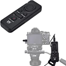JJC RM-VPR1 Wired Remote Control for Sony FDR-AX53 AX43 AX33 AX100 AX700 AX60 PXW-X70 PXW-Z90V HXR-NX80 HDR-CX405 CX455 CX440 CX675 CX680 CX900 A5100 A6000 A6100 A6300 A6400 RX100 VII VI ZV-1 RX10 IV