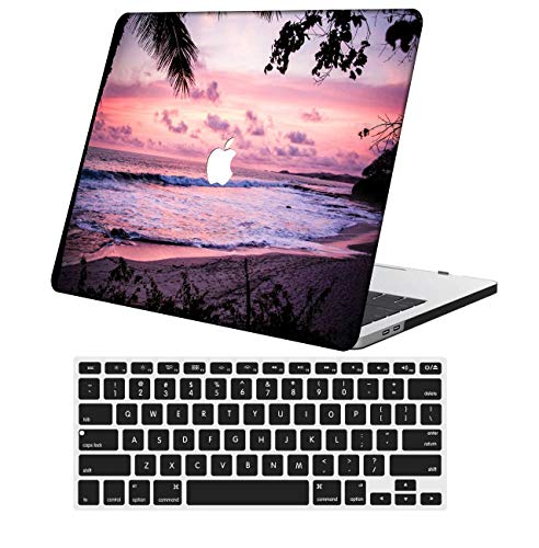 NKDCase Case for 2020 Newest MacBook Pro 13 inch Model A2289/A2251 Cut Out Design,Plastic Ultra Slim Light Hard Case Keyboard Cover Compatible MacBook Pro 13 inch with Touch Bar,Pink Series 0927