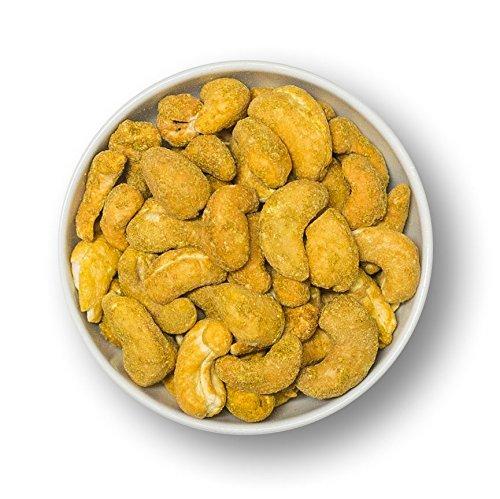 1001 Frucht Cashewkerne geröstet mit original indischem Curry veredelt 1000 g I Limited Edition der würzigen Cashew Kerne I Cashewnüsse ohne Konservierungsstoffe, ohne Aromazusätze I Vegan I 1 kg