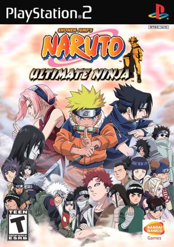 Ps2 Naruto Ultimate Ninja Original Americano Completo Black Label