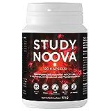 BRAIN BOOSTER¹ STUDY NOOVA   Konzentration Tablette¹   Nootropic¹ mit Vitamin B5 für geistige Leistung², B3 für Nerven⁴⁶, B6 für weniger Ermüdung³, Citicholin (CDP-Cholin) uvm.