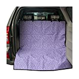HYUGO Dog Cargo Liner Cover - Car Boot Liner Protector Waterproof - Pet Seat Cover Universal for Car SUV Truck Jeeps Vans - Multifunctional Beach Blanket Picnic Mat - Purple