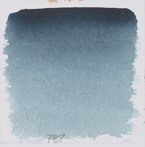 Schmincke Watercolor Pans - Payne's Grey Bluish - Half Pan