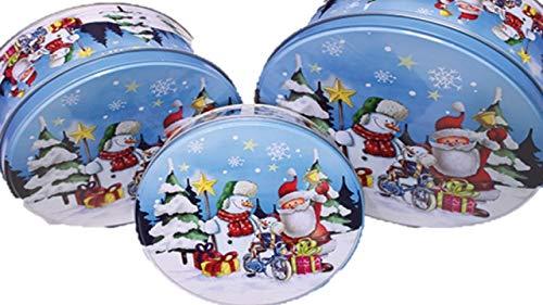 keks Keksdose Plätzchen Dose 3er Set Weihnachten